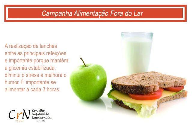 A Importâncias dos Lanches na Alimentação. Nutricionista Aline Lamarco comenta sobre esses lanches saudáveis na sua dieta