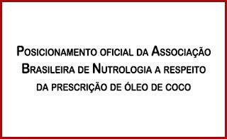 Para acabar com a polêmica sobre o óleo de coco, a Nutricionista Aline Lamarco traz dados das associação brasileira de nutrologia - ABRAN.